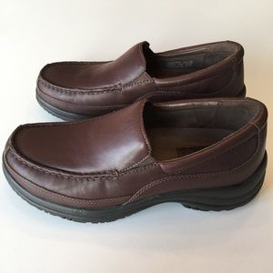 Mens Dansko Wayne Leather Loafers Size 8.5- 9
